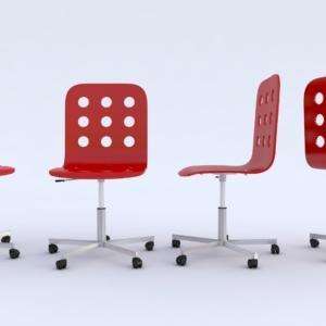 Jules di Ikea è regolabile in altezza, per garantire una seduta confortevole. Adatta per la camera dei ragazzi per solidità e mobilità (rotelle adatte anche a pavimenti in moquette), è realizzata in compensato di betulla verniciato naturale, bianco, blu, nero o rosso. Prezzo 49,90 Euro. www.ikea.com/it