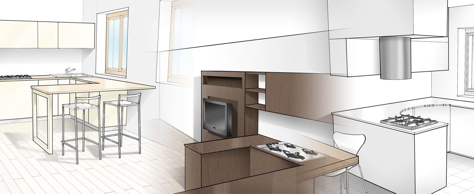 Tre soluzioni per una cucina cose di casa - Finestra in cucina ...