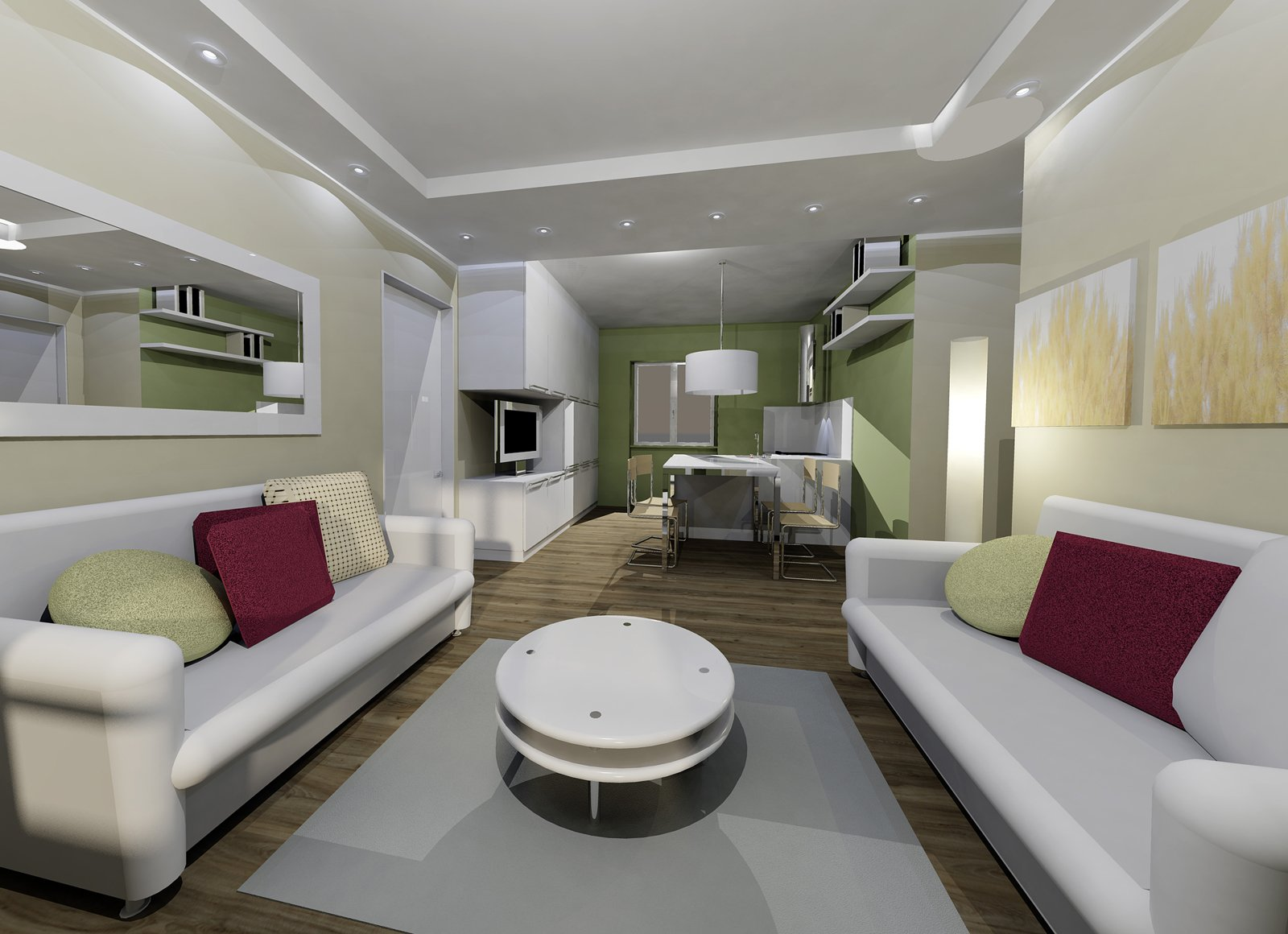 Ricavare la seconda camera in 55 mq cose di casa - Casa 50 mq ikea ...