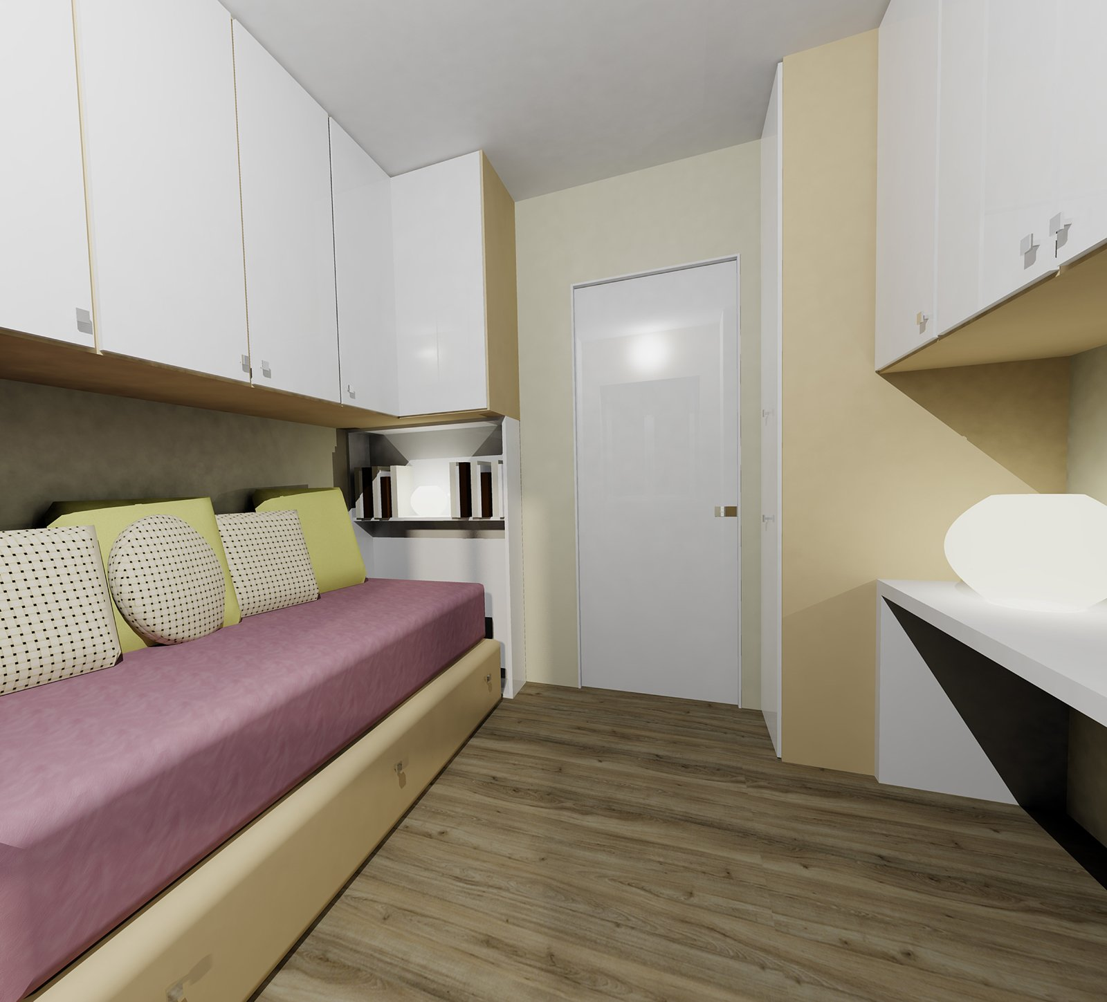 Ricavare la seconda camera in 55 mq cose di casa - Altezza parapetti finestre normativa ...