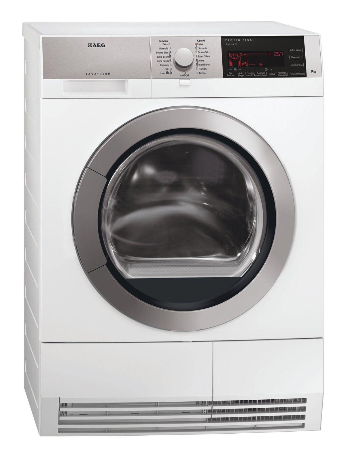 Asciugatrici consumi ridotti e programmi differenziati for Asciugatrice a pompa di calore