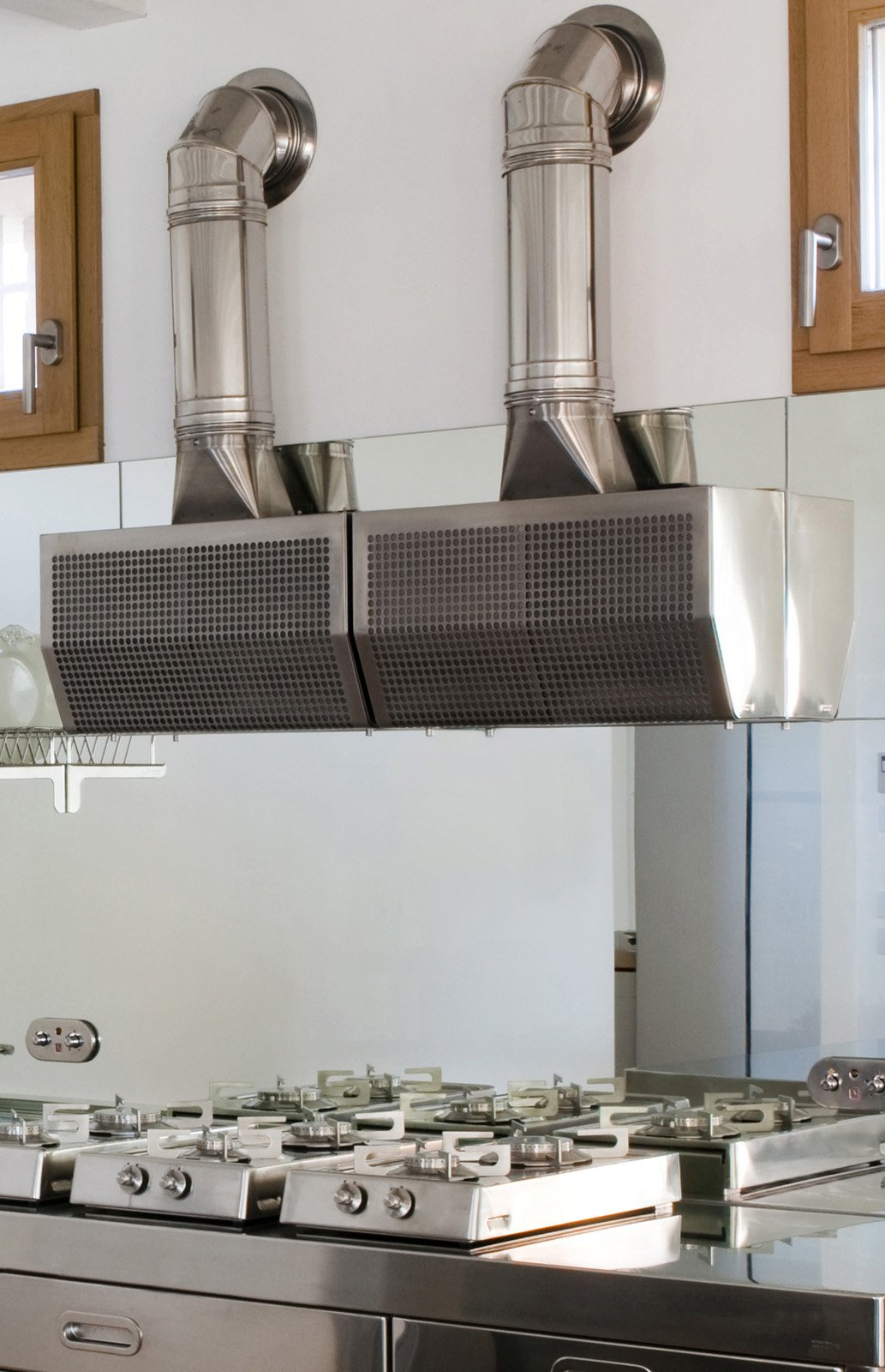 Cappe per la cucina cose di casa for Cappa acciaio