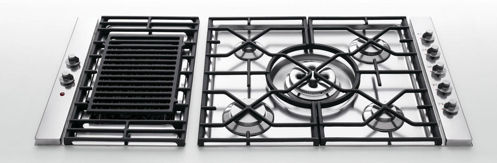 Piani cottura con o senza fiamma cose di casa - Cucine alpes inox prezzi ...