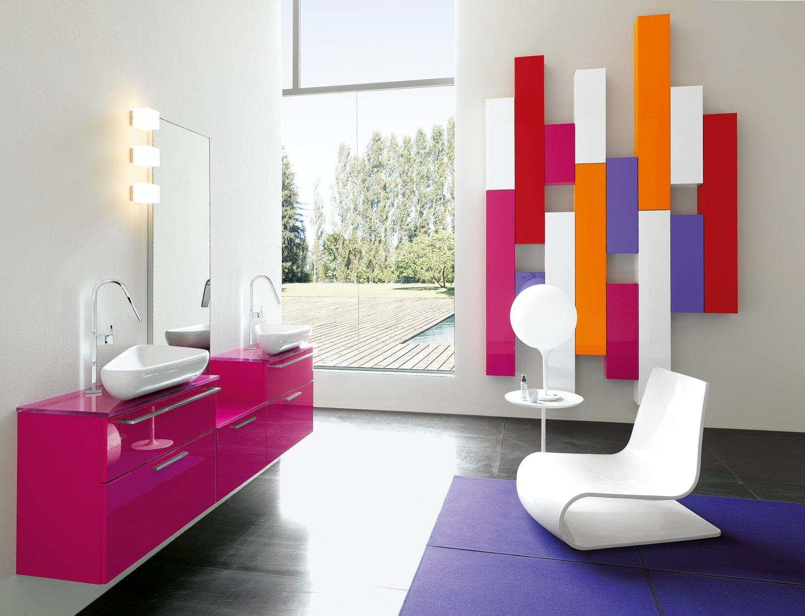 Arredare il bagno blocco unico o pezzi singoli cose di - Mobili colorati design ...