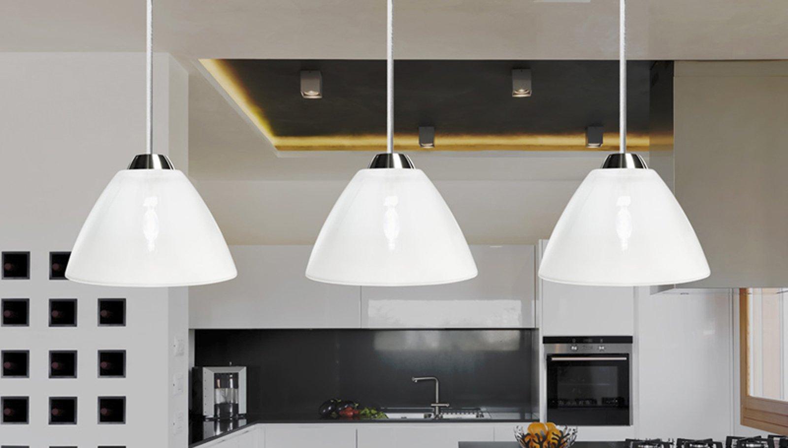 Lampadari  a quale altezza appenderli?   Cose di Casa -> Lampadari Cucina Eleganti