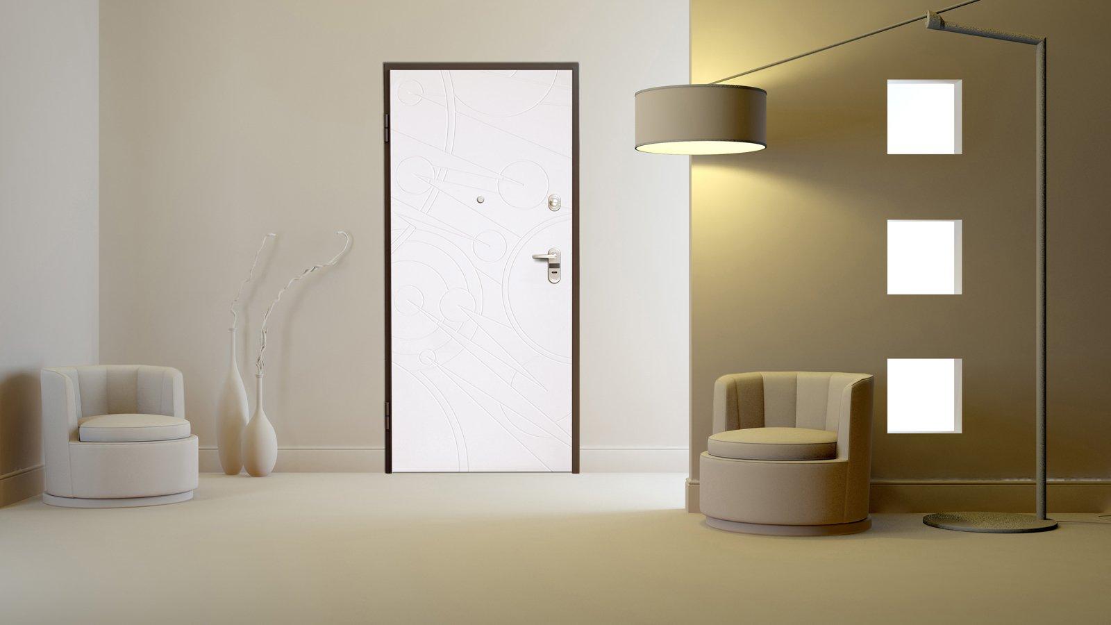 Porta blindata per essere al sicuro cose di casa - Porte per la casa ...