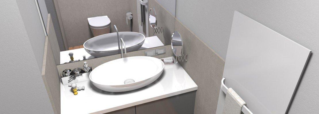 Ricavare secondo bagno, lavanderia e armadio a muro da un solo ...