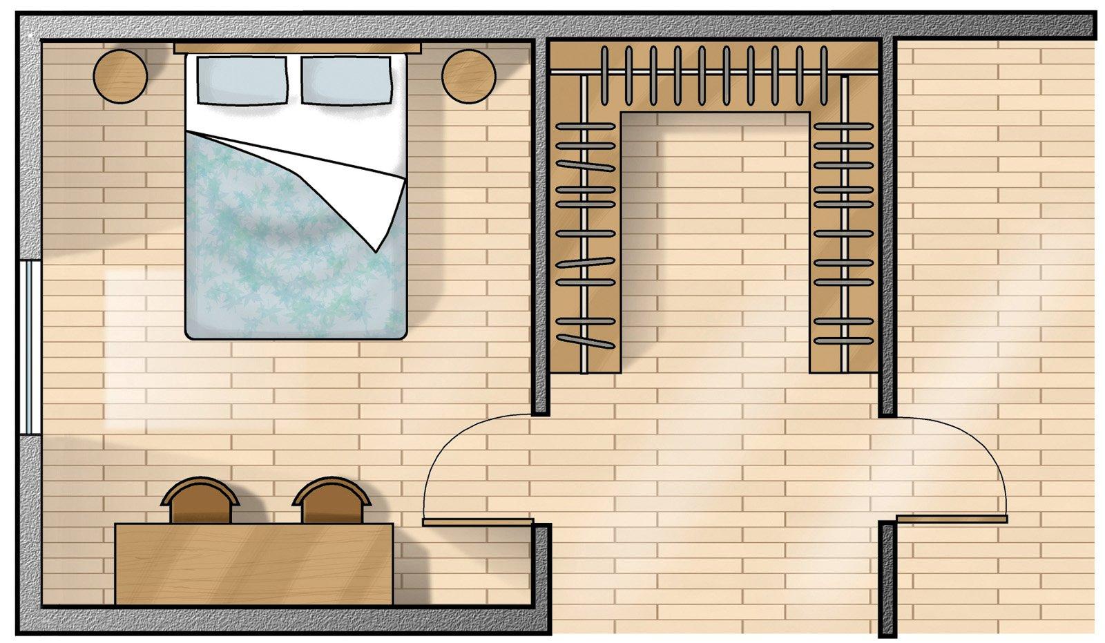 cabine armadio, soluzione trendy - cose di casa - Misure Standard Per Una Cabina Armadio