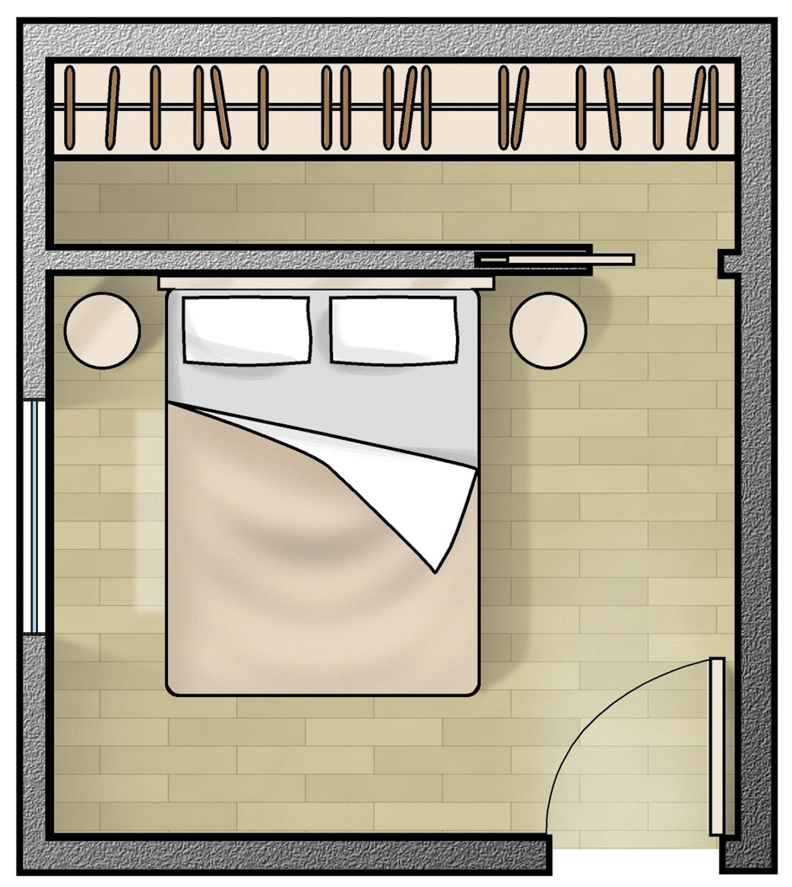 Cabine armadio soluzione trendy cose di casa - Camera da letto con cabina armadio ad angolo ...