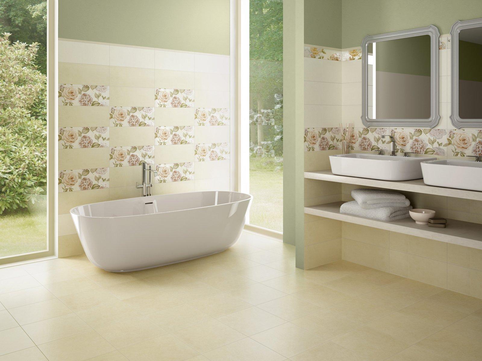 Piastrelle Bagno Beige Mosaico : Piastrelle bagno mosaico beige ...