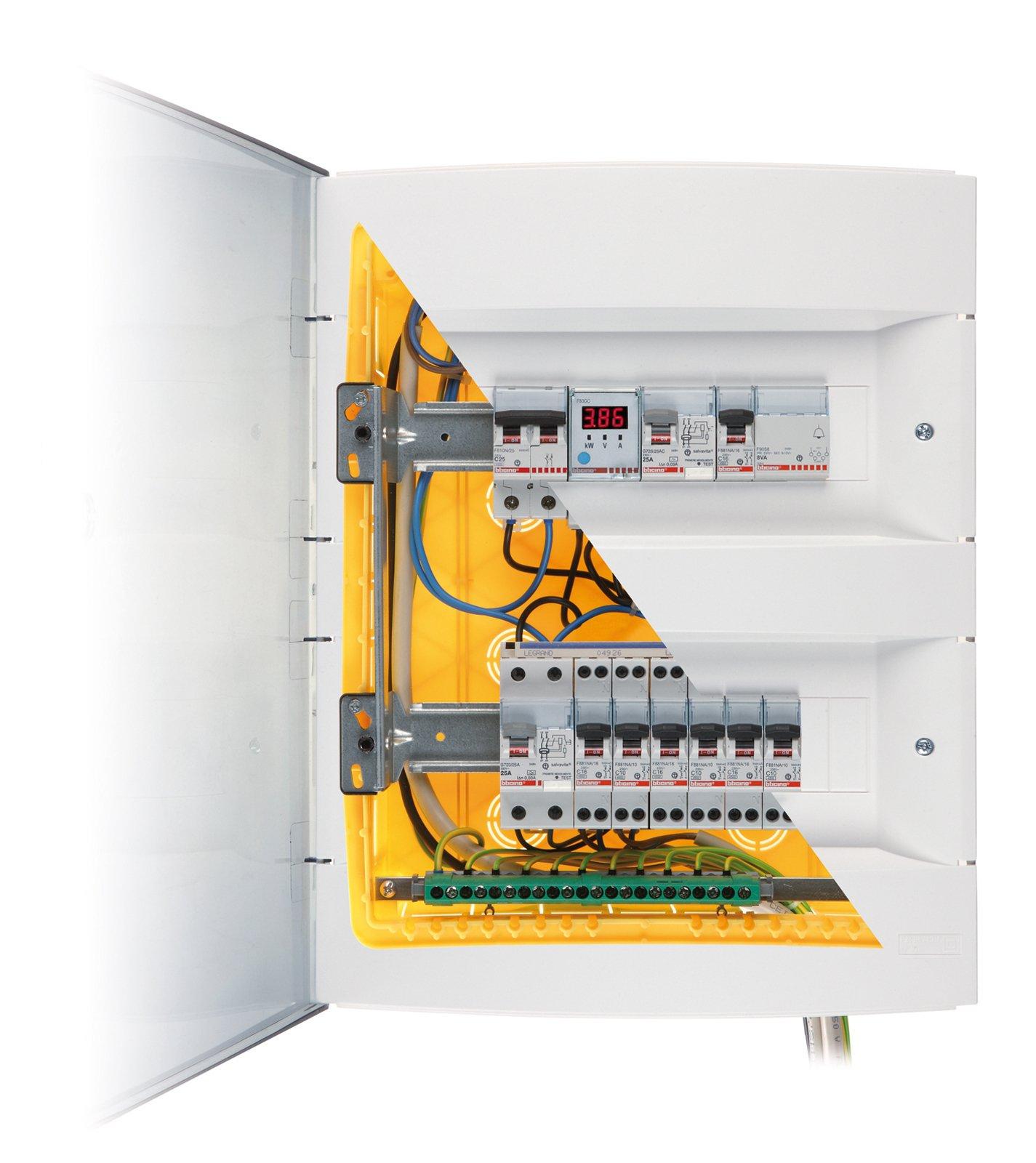 Impianto elettrico nuovo come va fatto cose di casa - Impianto audio casa incasso ...