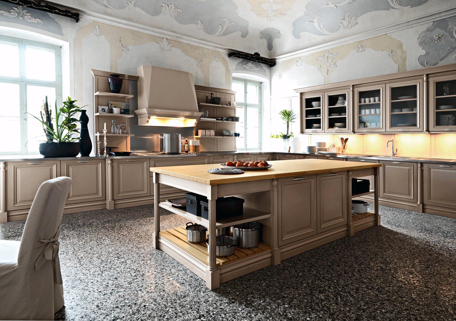 New Classic La Nuova Cucina Country è New Classic In Cucina Un Tocco #856D46 1600 1127 Parquet In Sala Da Pranzo