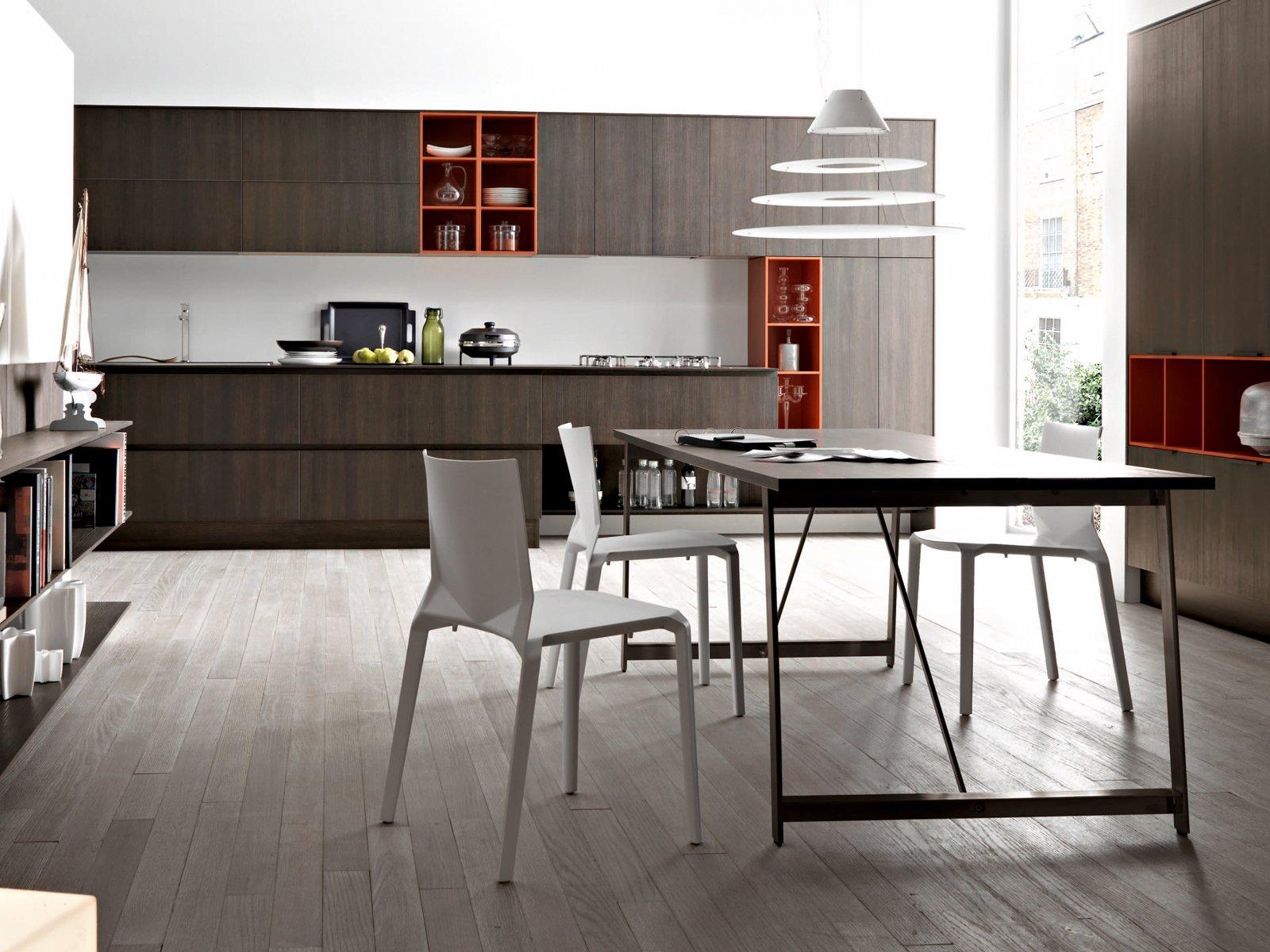 Con Effetto Caldo E Originale La Cucina Kora Di Cesar Accosta Ante In  #955036 1600 1200 Pensili E Basi Cucina Ikea