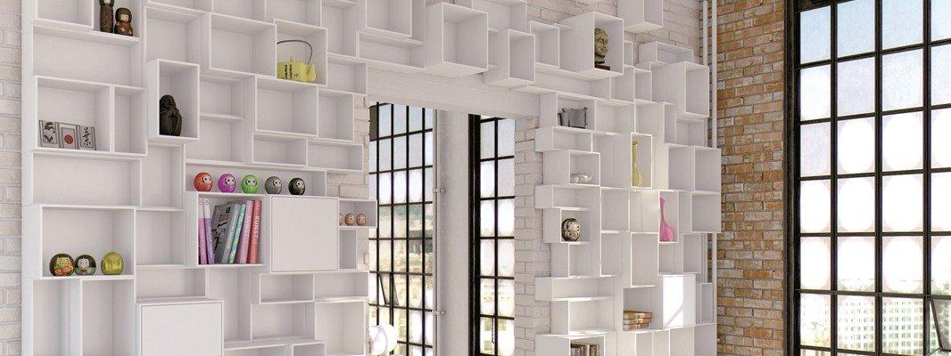 Una libreria versatile cubit facile da montare e per - Libreria da camera ...