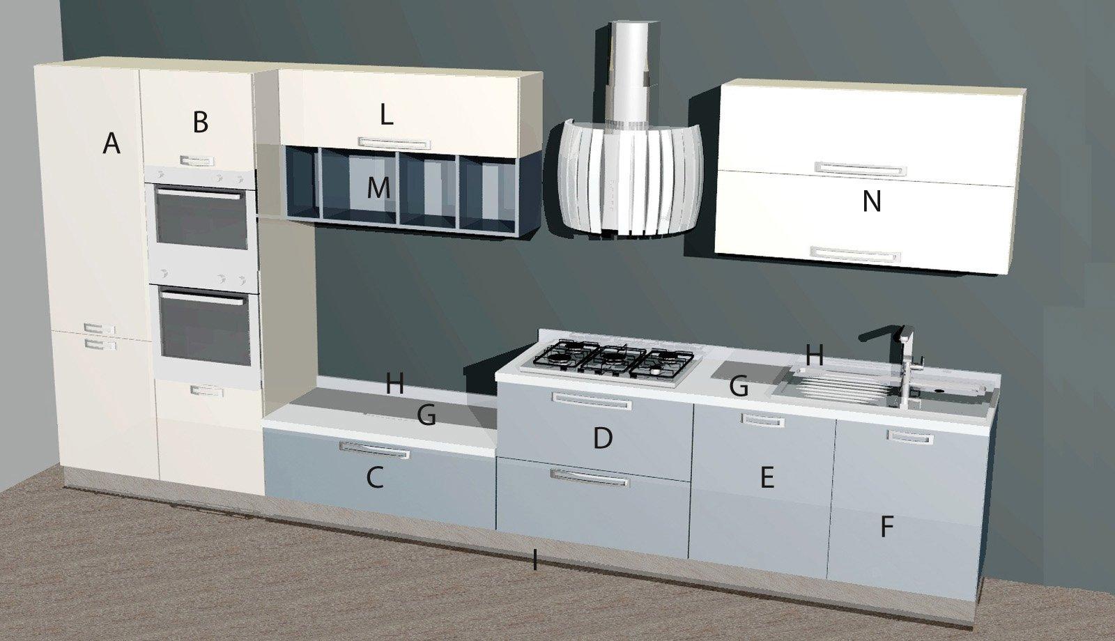 Cucine secondo progetto pi preventivo cose di casa - Cucine in linea moderne ...