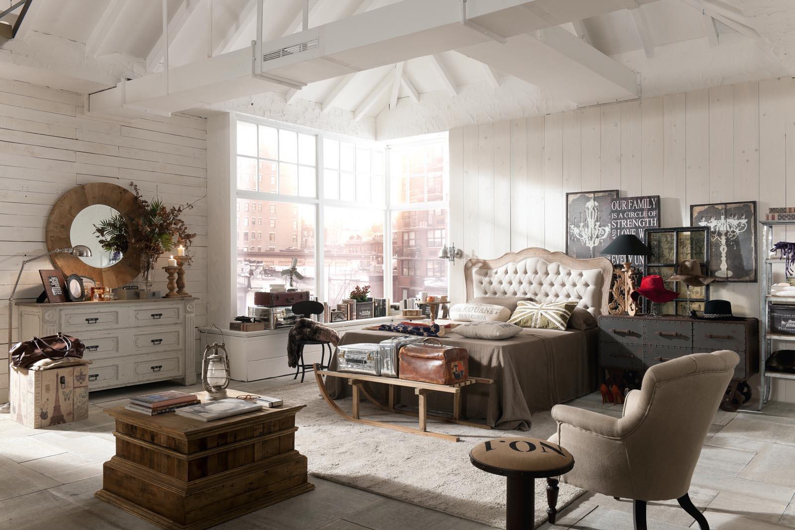 Stile vintage un 39 impronta particolare cose di casa - Decoracion vintage industrial ...