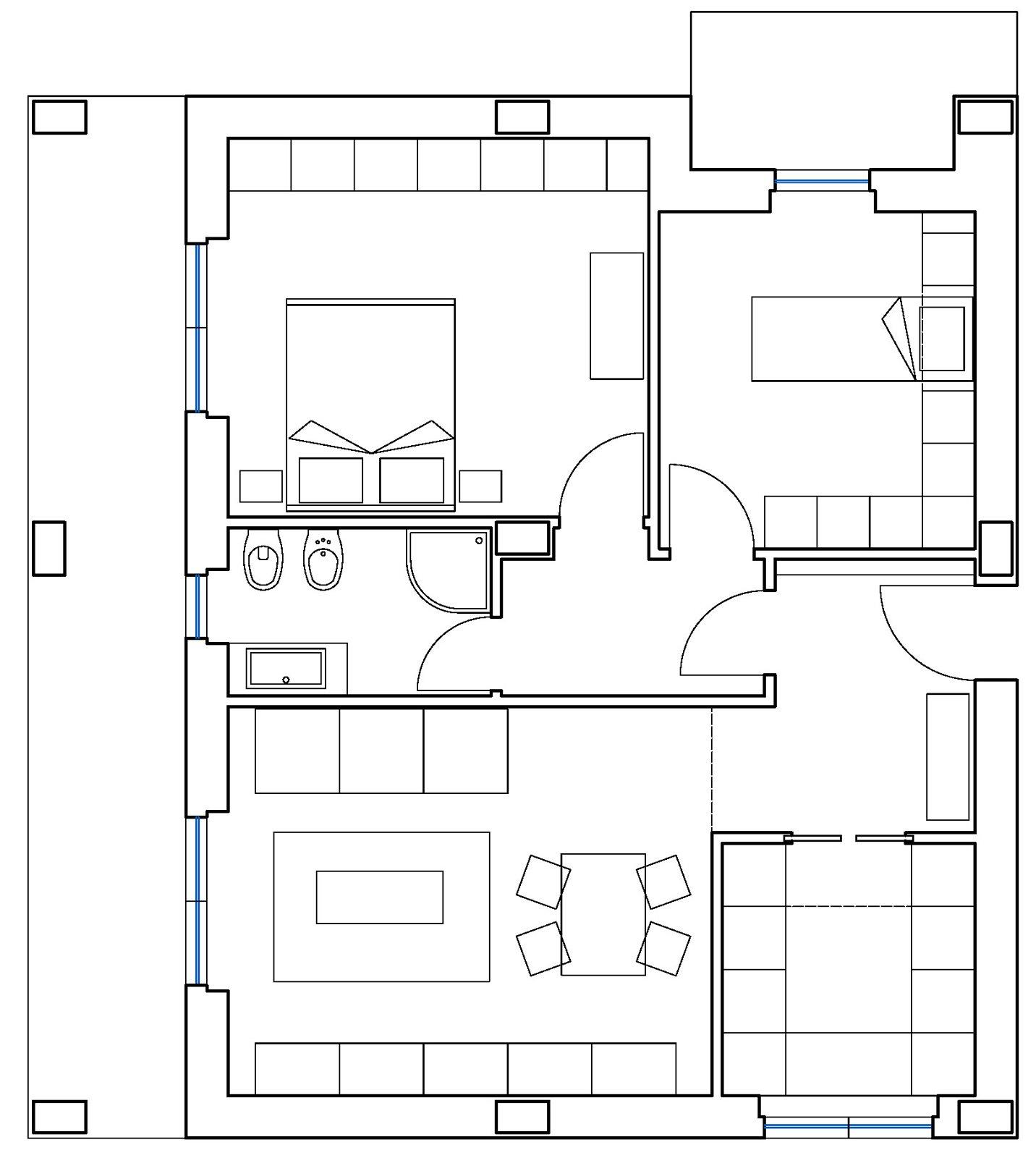 Ricavare la seconda camera in 60 mq cose di casa for Aggiunta stanza indipendente
