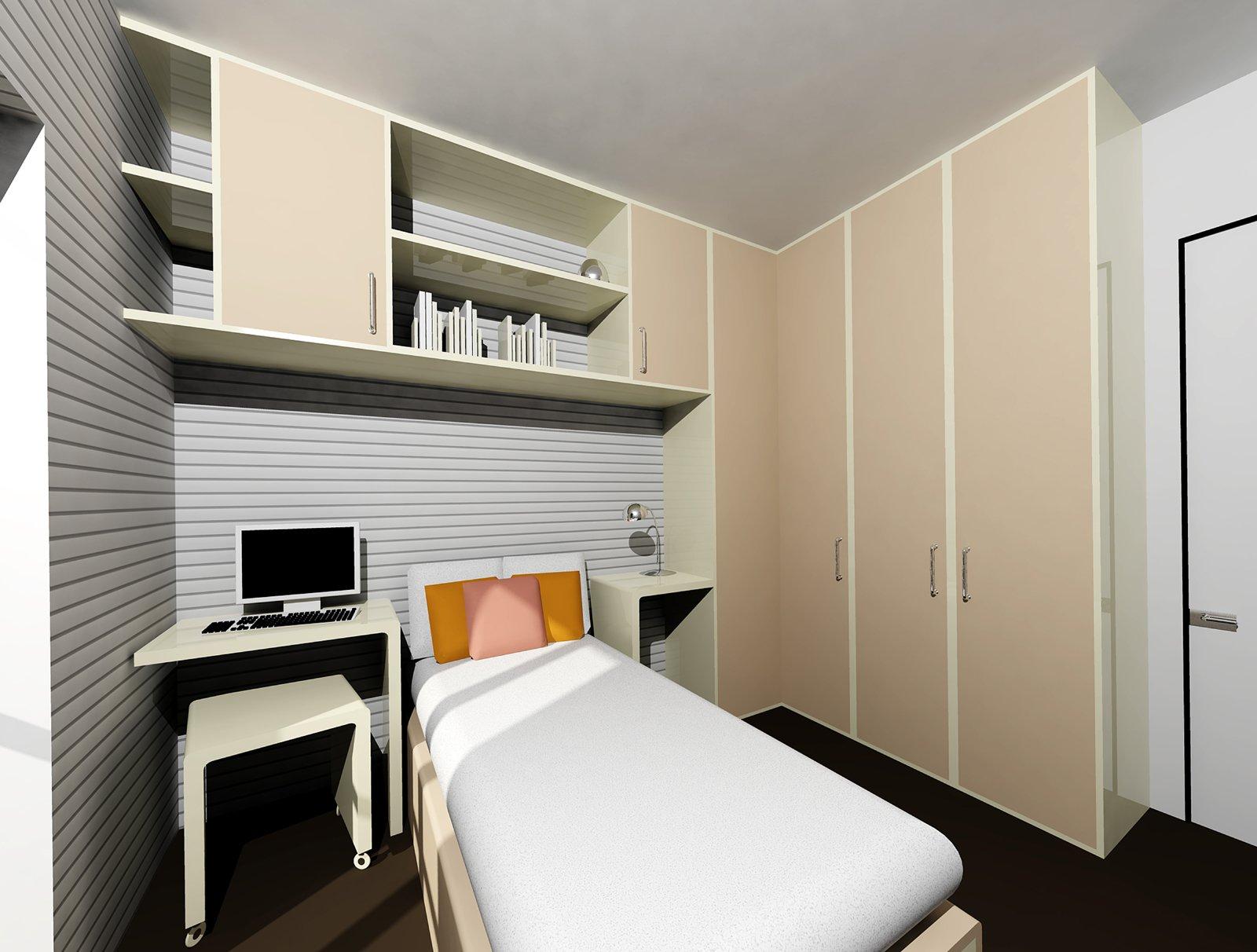 Ricavare la seconda camera in 60 mq cose di casa - Arredare camera da letto 9 mq ...