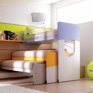 Camerette funzionalit a misura di bambino cose di casa for Piani di studio 300 piedi quadrati