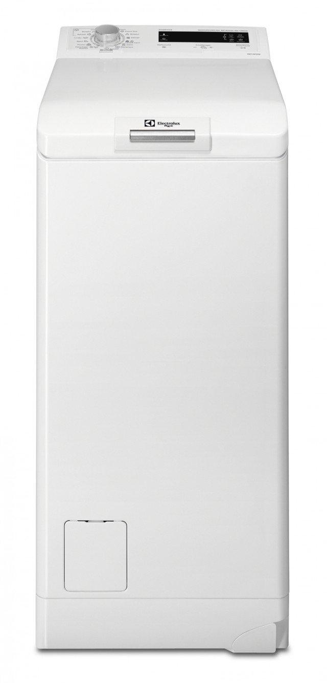 È dotata di speciale trattamento a vapore la lavatrice a carica dall'alto RWT 1367 VDW Time Manager di Electrolux Rex in classe di efficienza energetica A+++ -10% con capacità di carico di 6 kg. La funzioen Time manager permette di decidere la durata del lavaggio. Misura L 40 x P 60 x H 85 cm Prezzo 900 euro www.electrolux-rex.it