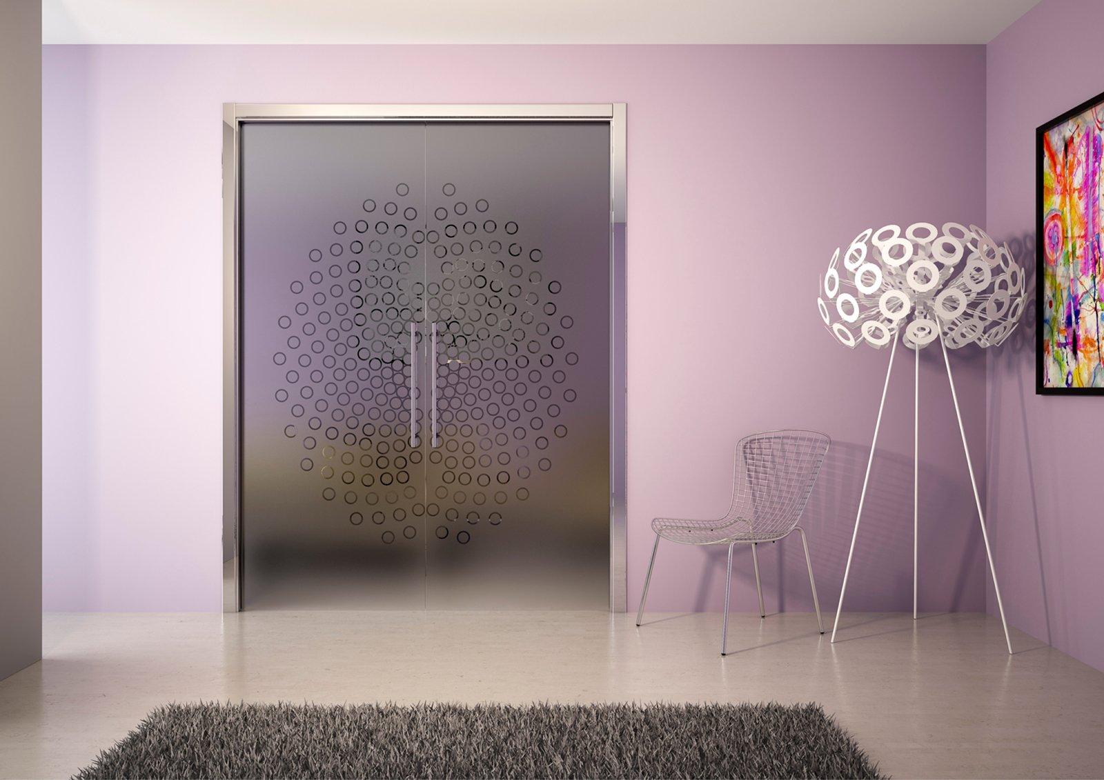 porte scorrevoli per risolvere problemi di spazio - cose di casa - Porte Vetro Decorate Scorrevoli