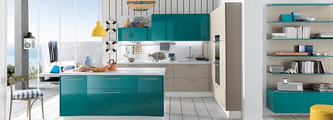 La cucina colorata, un guizzo di vitalità   cose di casa