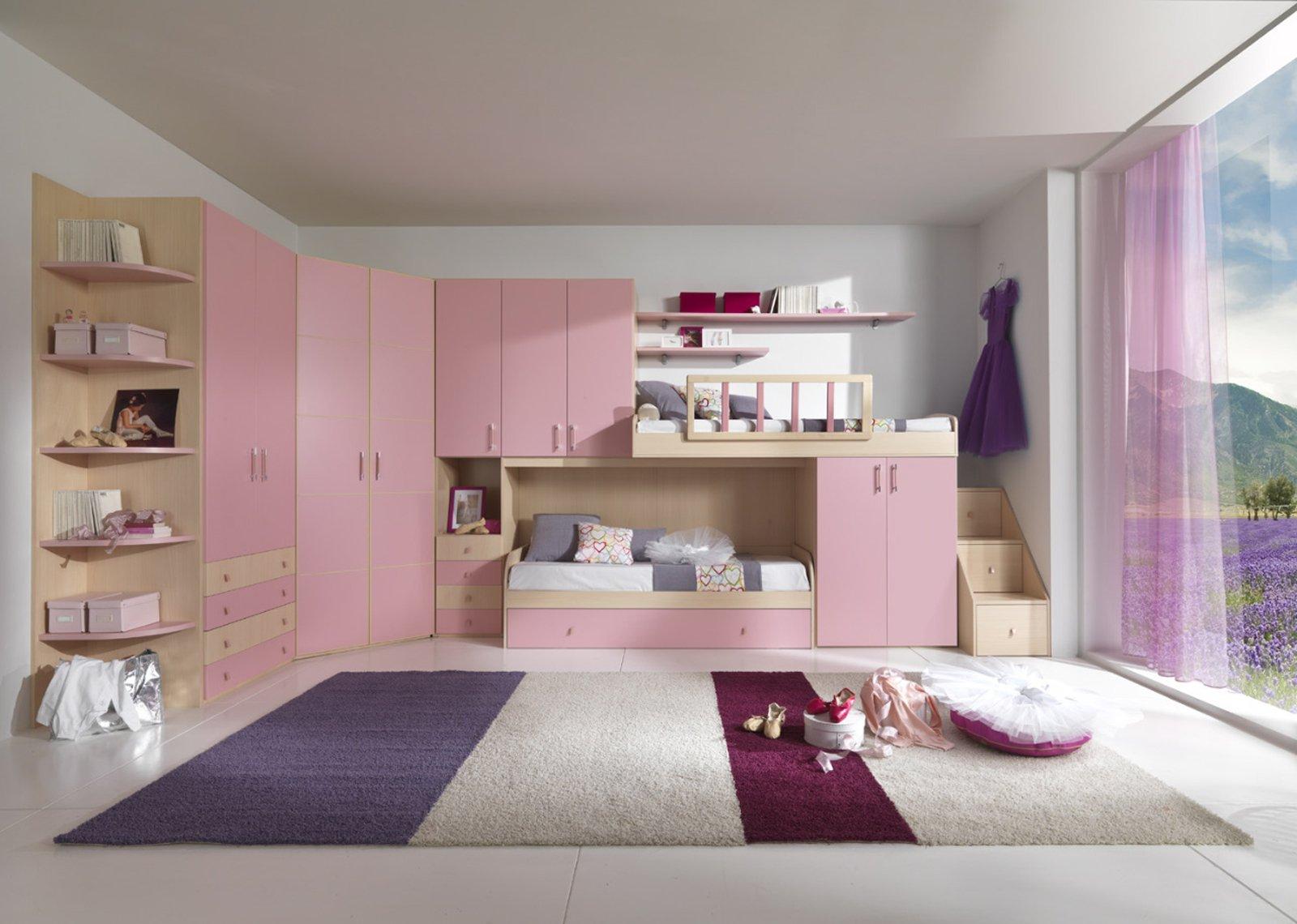 Camerette funzionalit a misura di bambino cose di casa for Parete cameretta bambina
