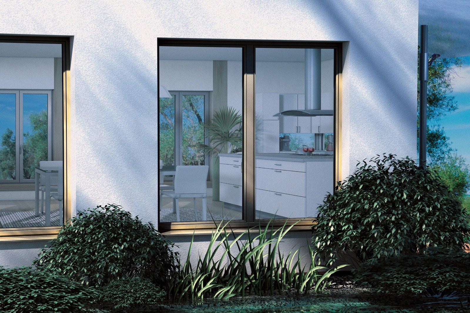 Ingrandire una finestra cose di casa - Cucina balcone condominio ...