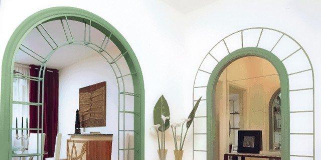 Decorare la parete intorno a un 39 apertura cose di casa for Decorazione finestre