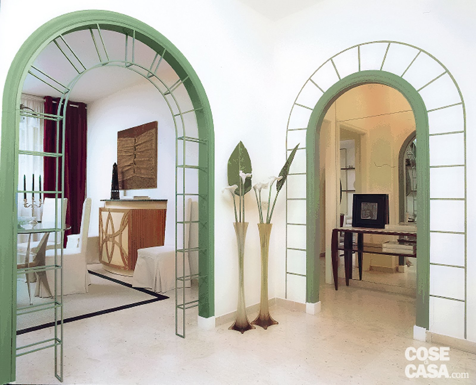 Decorare la parete intorno a un 39 apertura cose di casa - Decorare parete soggiorno ...