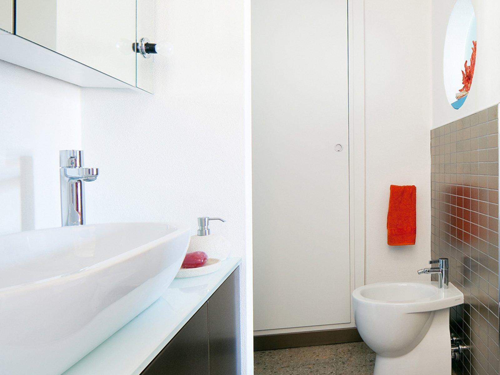 Specchio da bagno orizzontale con luci luce illuminazione led