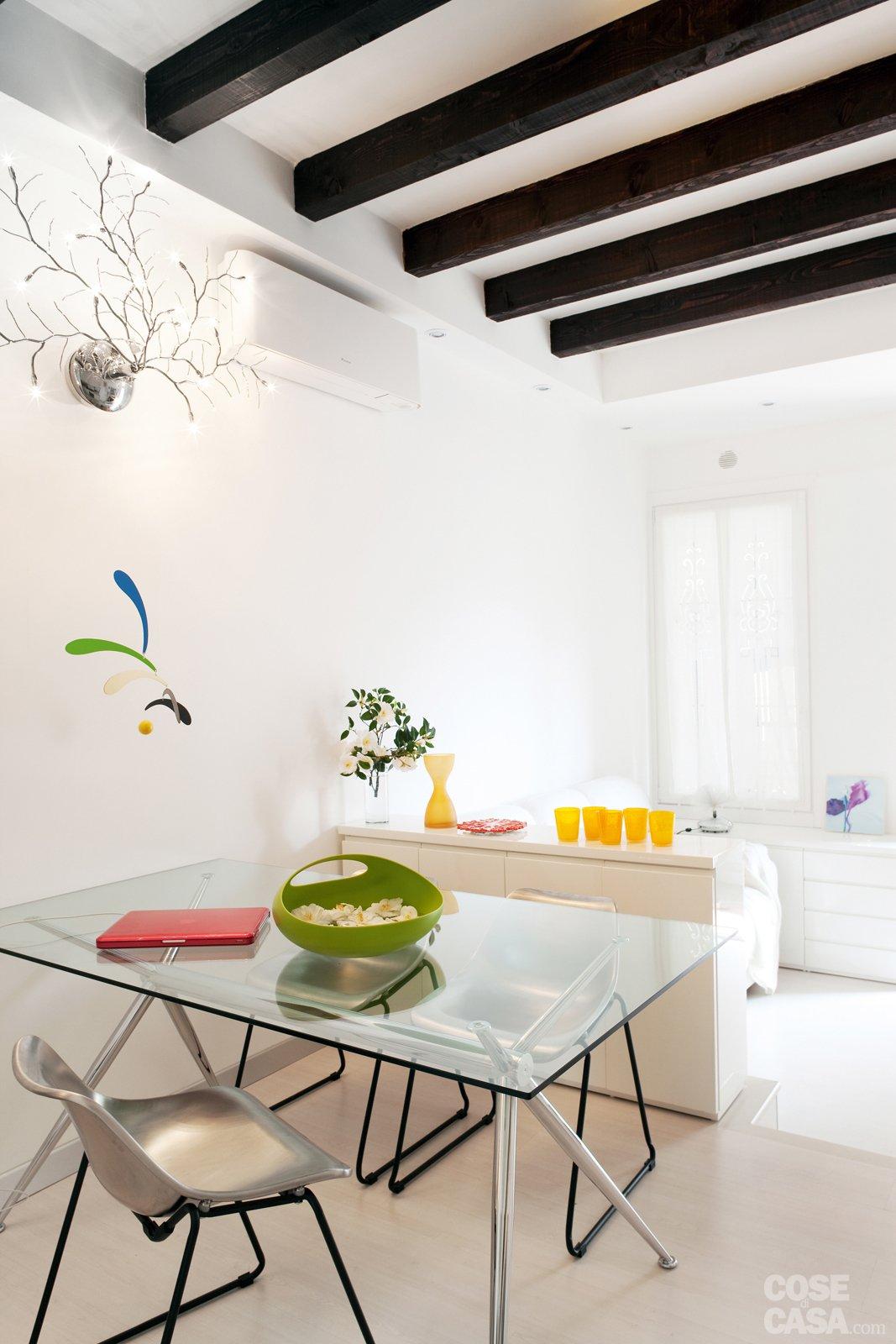 Una Casa Di 35 Mq Sfruttati Al Massimo Cose Di Casa #C29509 1067 1600 Esempi Di Cucine Classiche