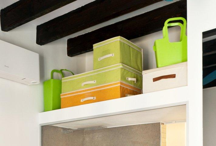 Una casa di 35 mq sfruttati al massimo cose di casa - Come fare un soppalco in casa ...