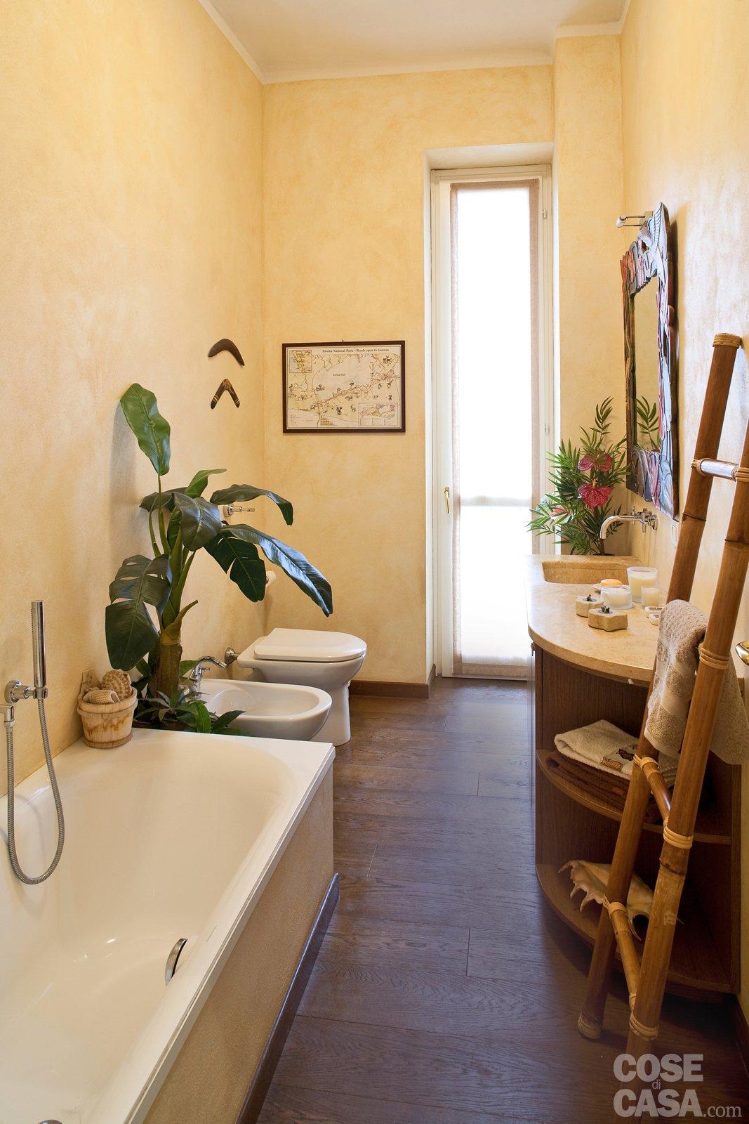 Una casa di 80 mq superfunzionali cose di casa for Tinteggiare il bagno