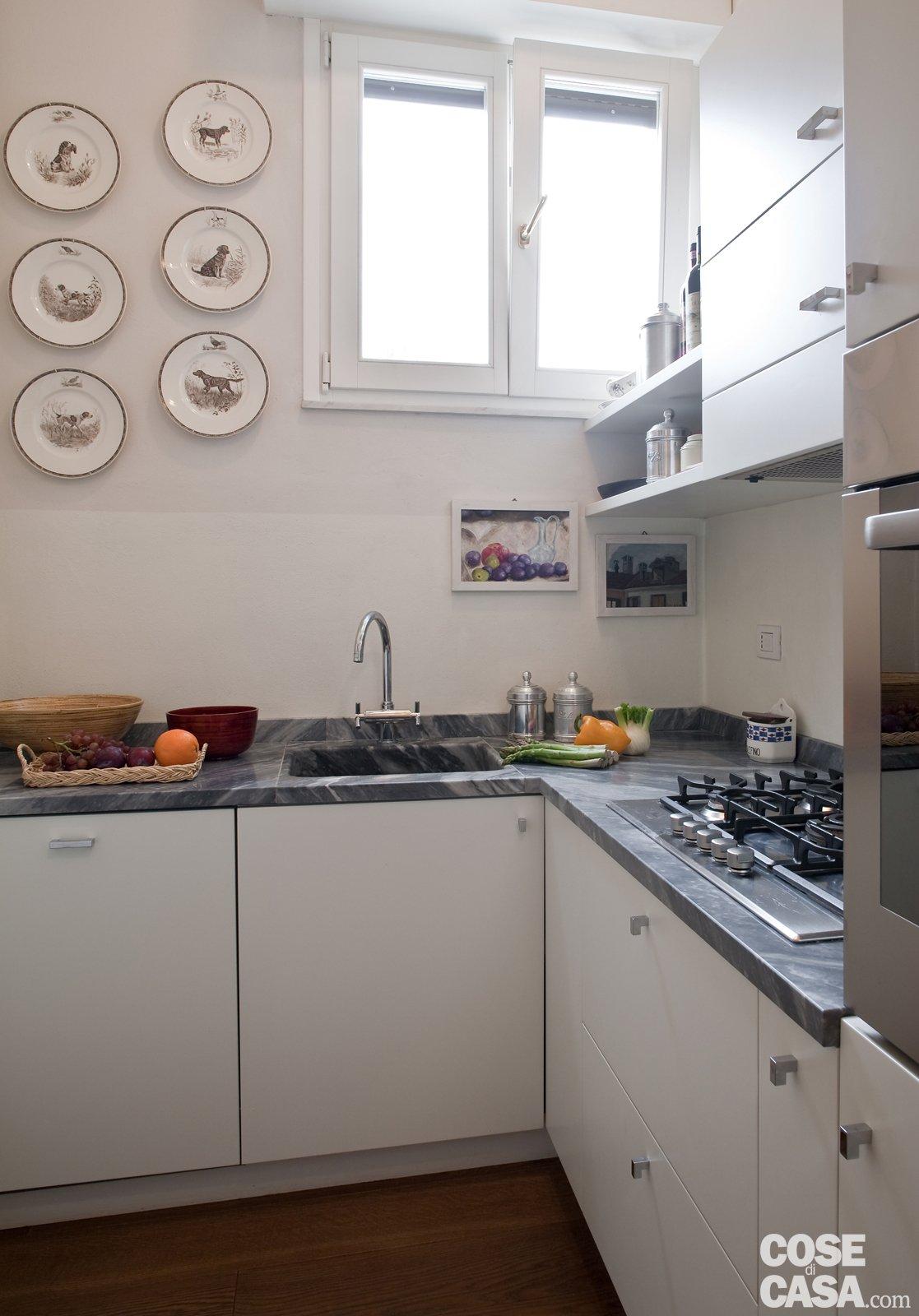 Una casa di 80 mq superfunzionali cose di casa for Moderni minuscoli kit di case