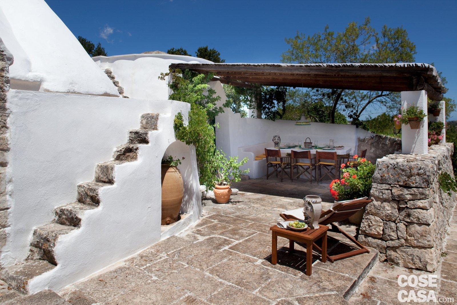 La Casa In Un Trullo Cose Di Casa #316095 1600 1067 Piastrelle Cucina Casa Al Mare