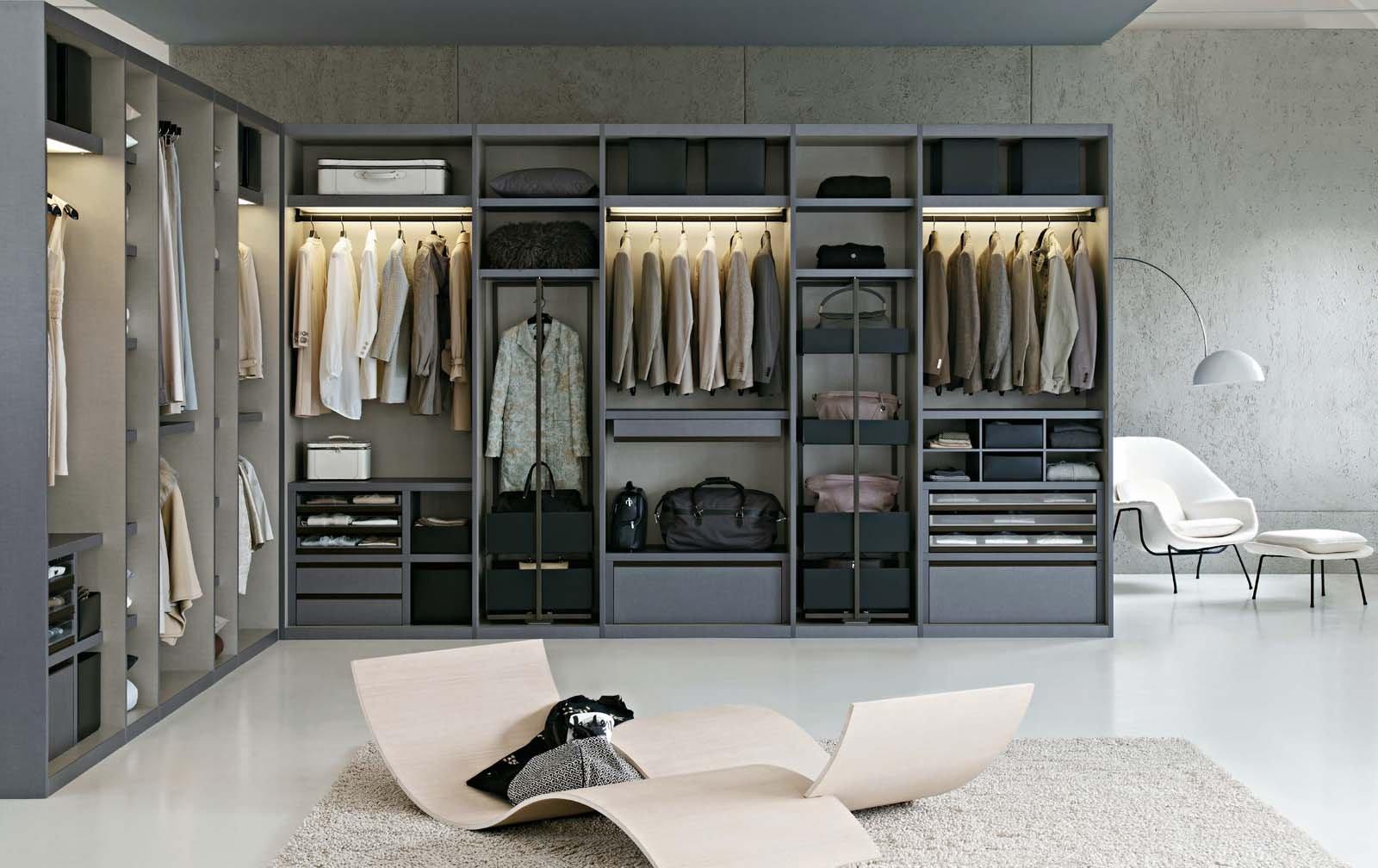 Cabine armadio soluzione trendy cose di casa - Interni per cabine armadio ...