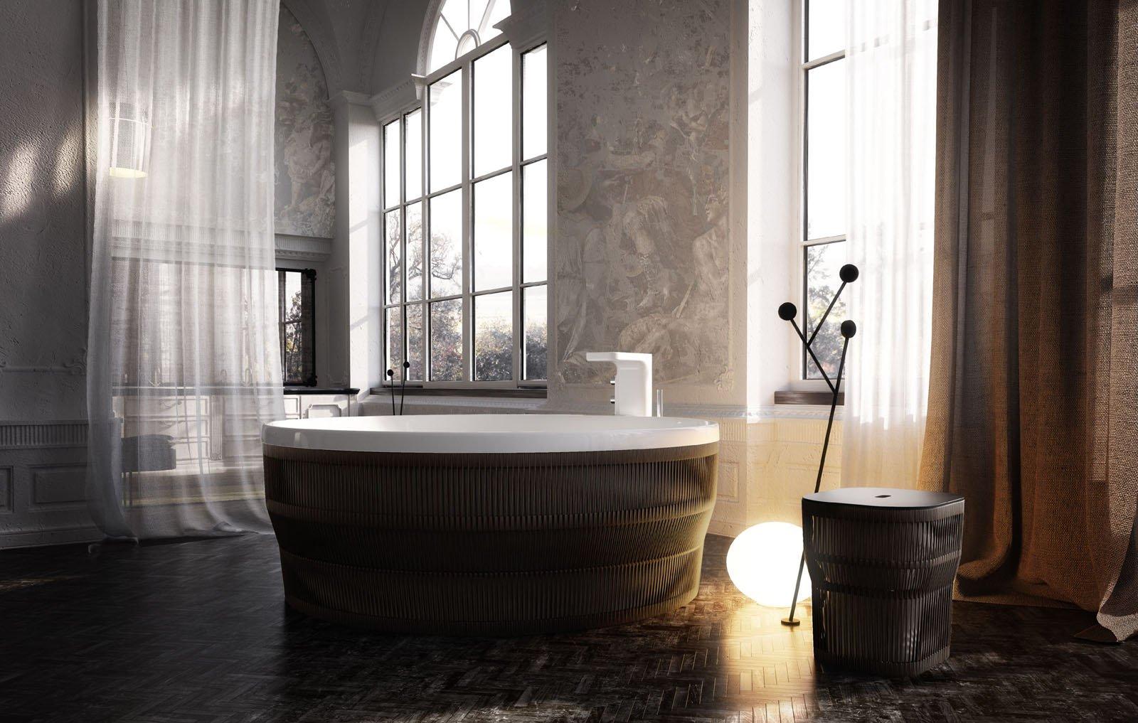 Vasca Da Bagno Usata Con Piedini : Le vasche idromassaggio cose di casa