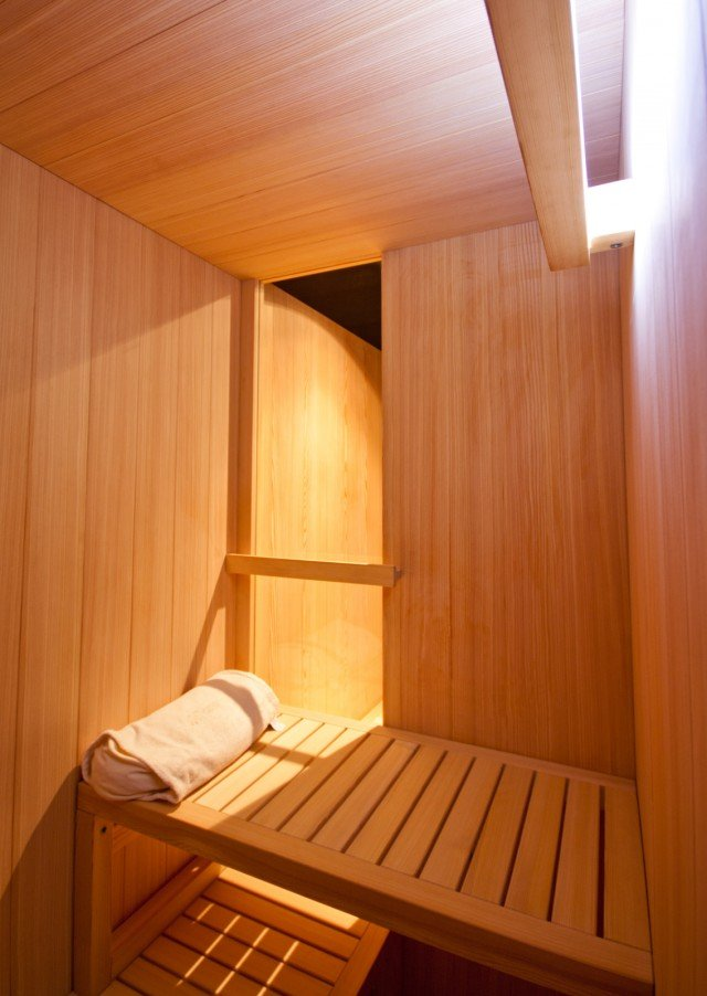 Hita di Glass è la sauna radiante che utilizza la tecnologia radiante ...