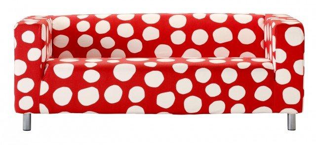 Prezzo 209 euro - Klippan di Ikea. Imbottito in poliuretano, il divano con piedini in acciaio misura L 180 x P 88 x H 66 cm. www.ikea.com/it