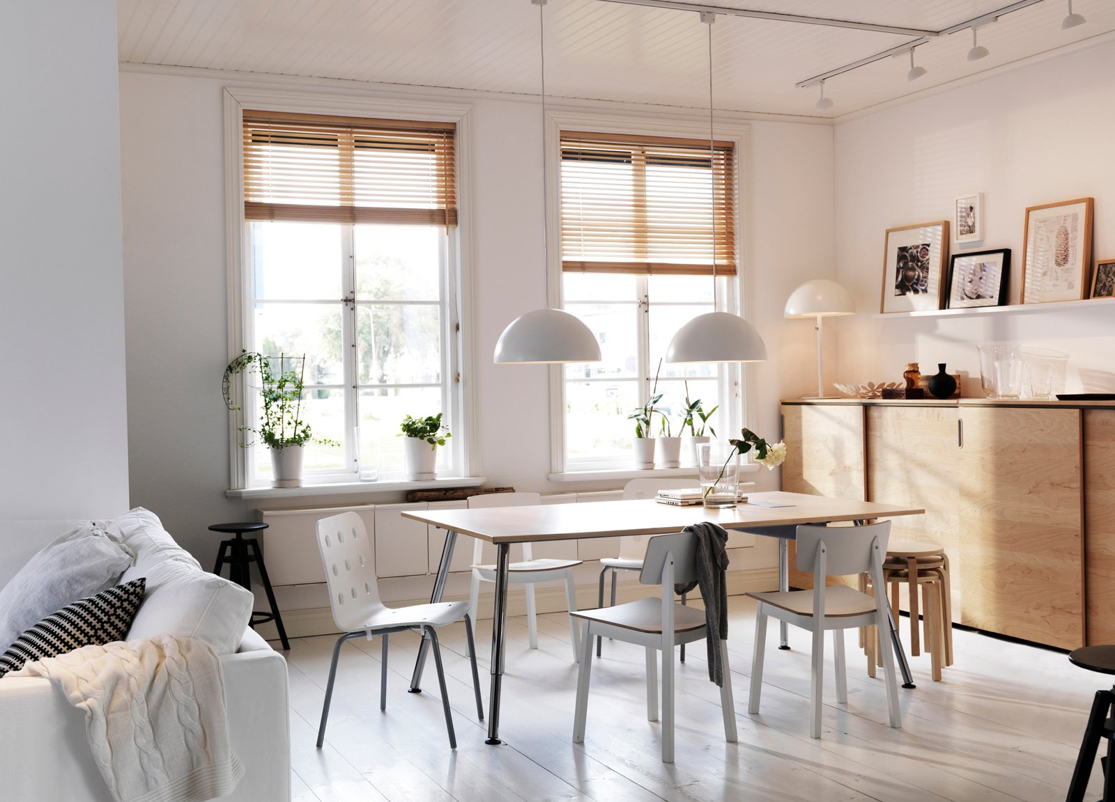 Le tende a pacchetto cose di casa - Ikea tende da cucina ...