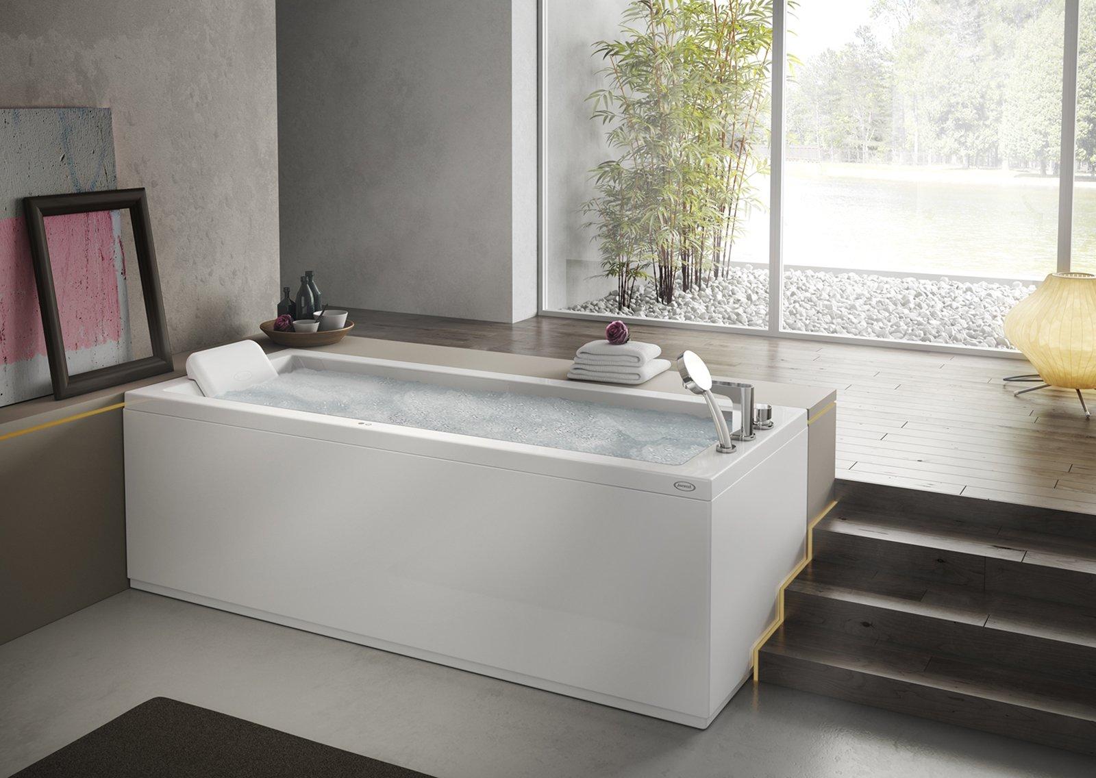 Le vasche idromassaggio cose di casa - Vasca da bagno da incasso prezzi ...