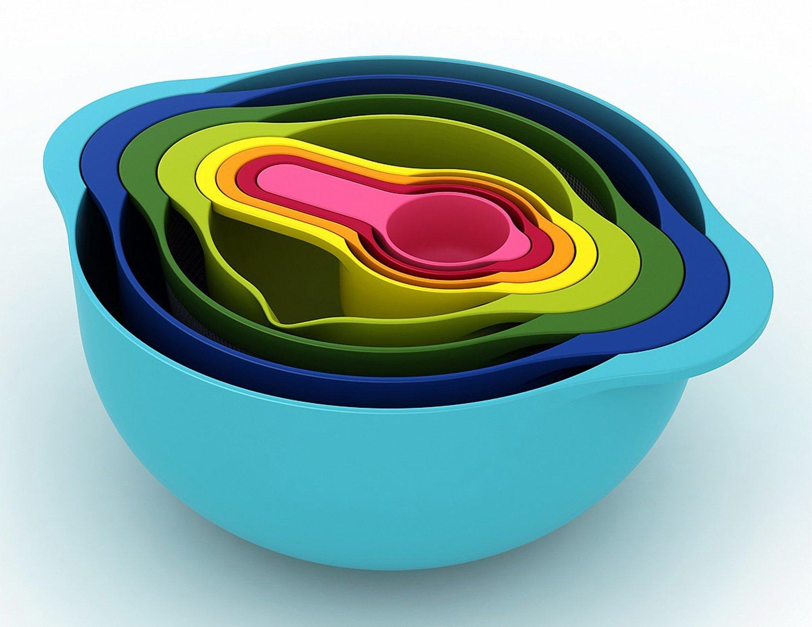 La Serie Nest è La Collezione Di Utensili Da Cucina Pratici E  #757809 1600 1236 Utensili Da Cucina Disegni