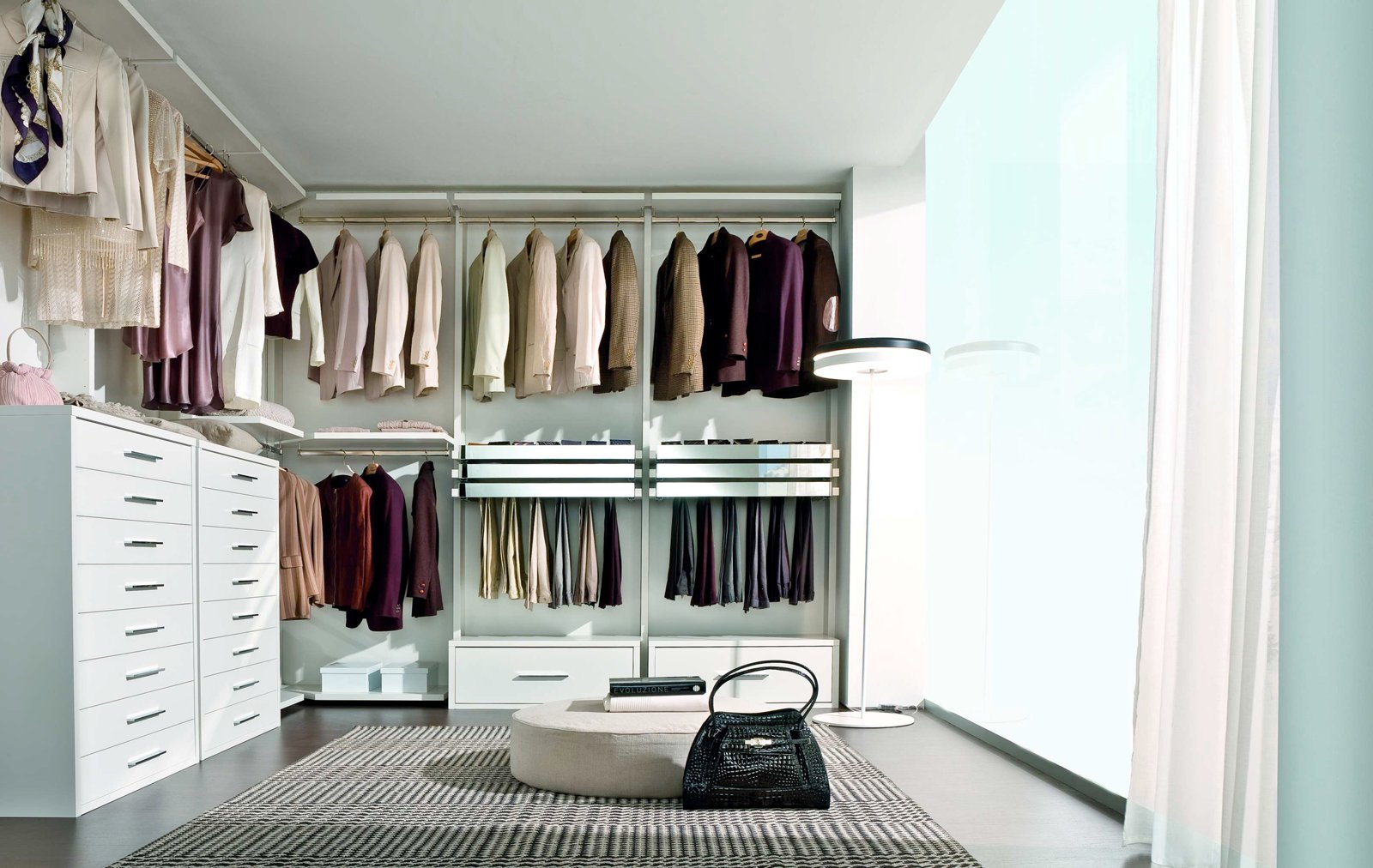 Cabine armadio soluzione trendy cose di casa - Cabine armadio in legno ...