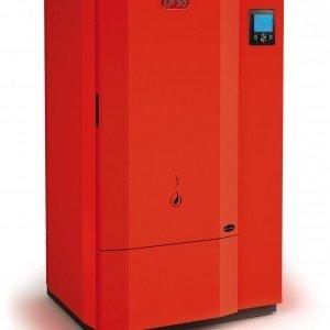LP 30 di La Nordica è la caldaia a basamento alimentata a pellet. Ha potenza di 31,1 kW e offre un rendimento del 92%. Misura L 87,5 x P 77,2 x H 140,6. Prezzo 6.413 euro. www.lanordica-extraflame.com