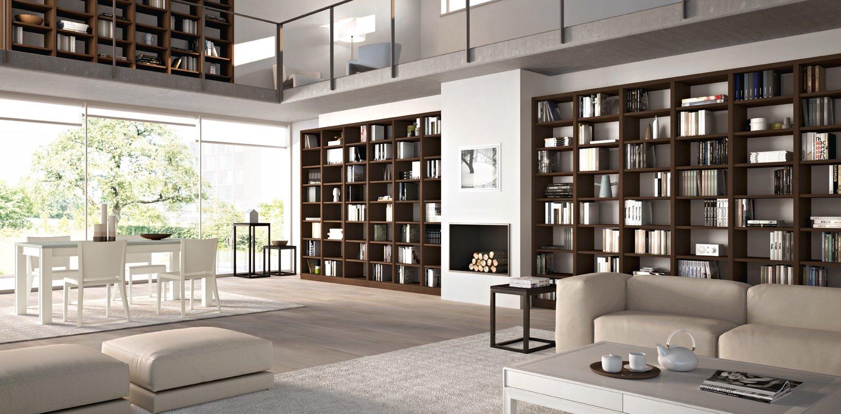 Librerie e non solo un posto per tutto cose di casa - Libreria per camera da letto ...