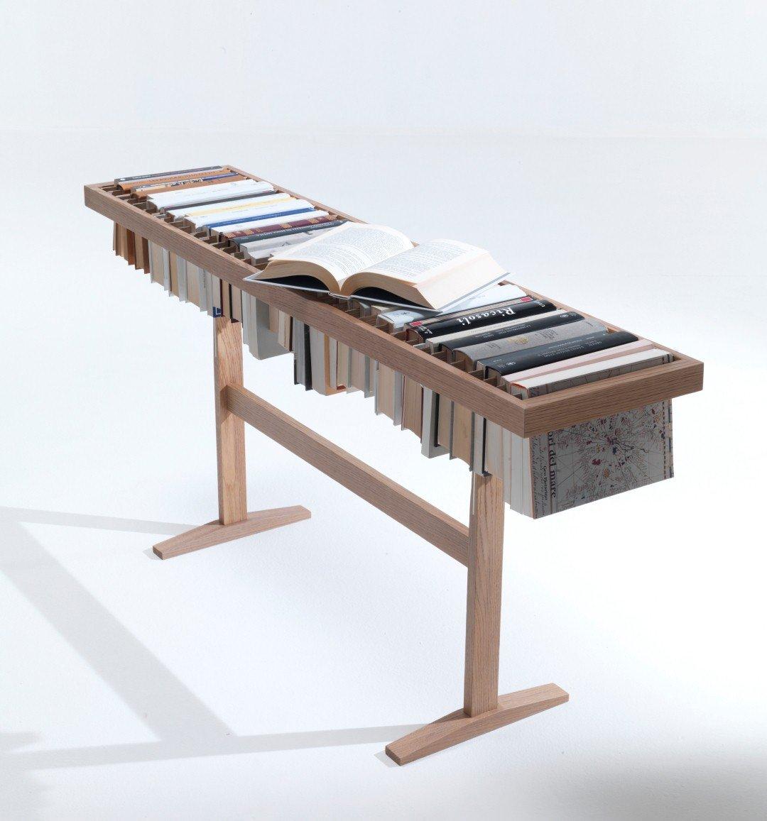 Libreria mini e piano d 39 appoggio cose di casa for Libreria lema