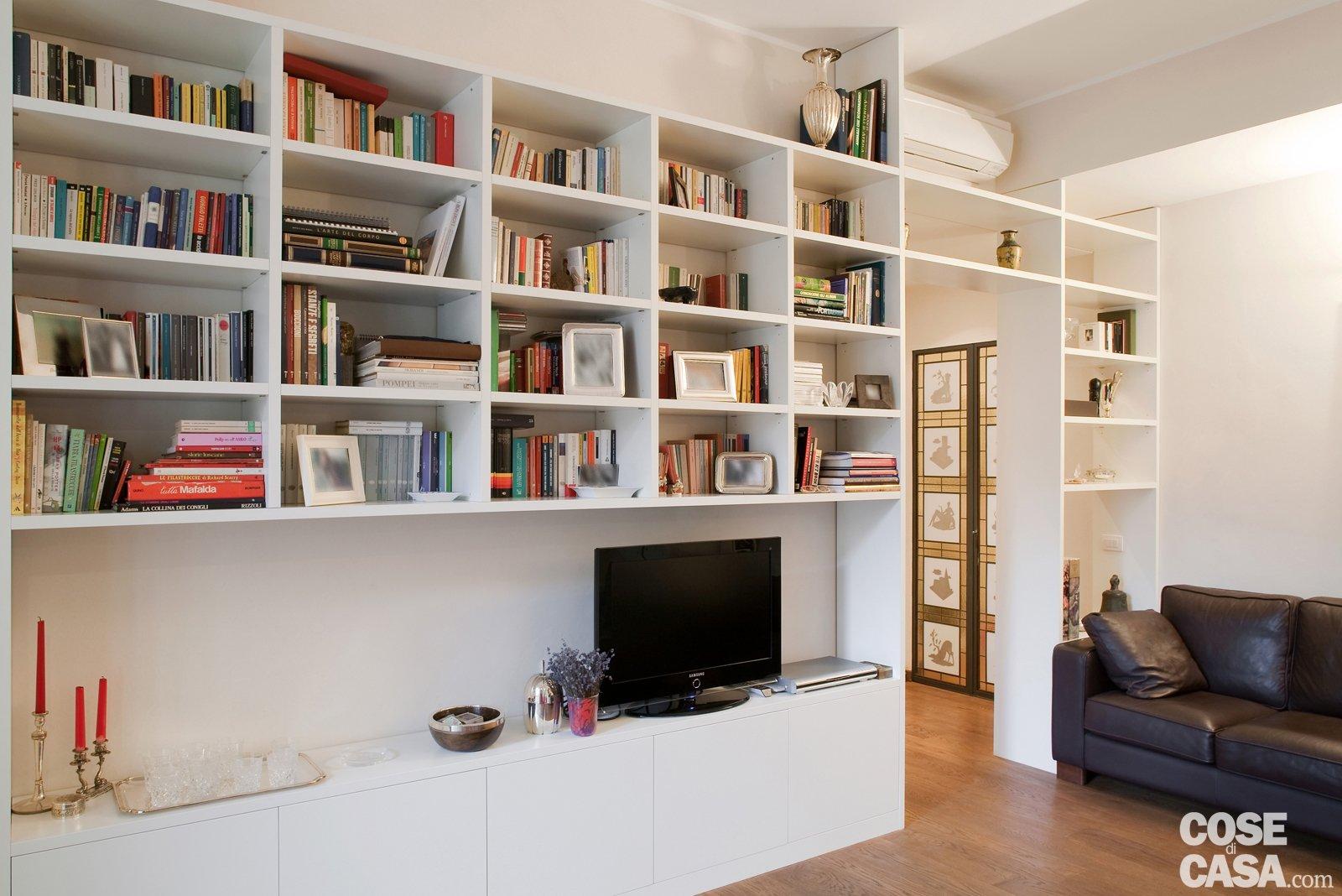 Una Casa Di 80 Mq Superfunzionali Cose Di Casa #A43227 1600 1068 Come Arredare Una Cucina Salotto