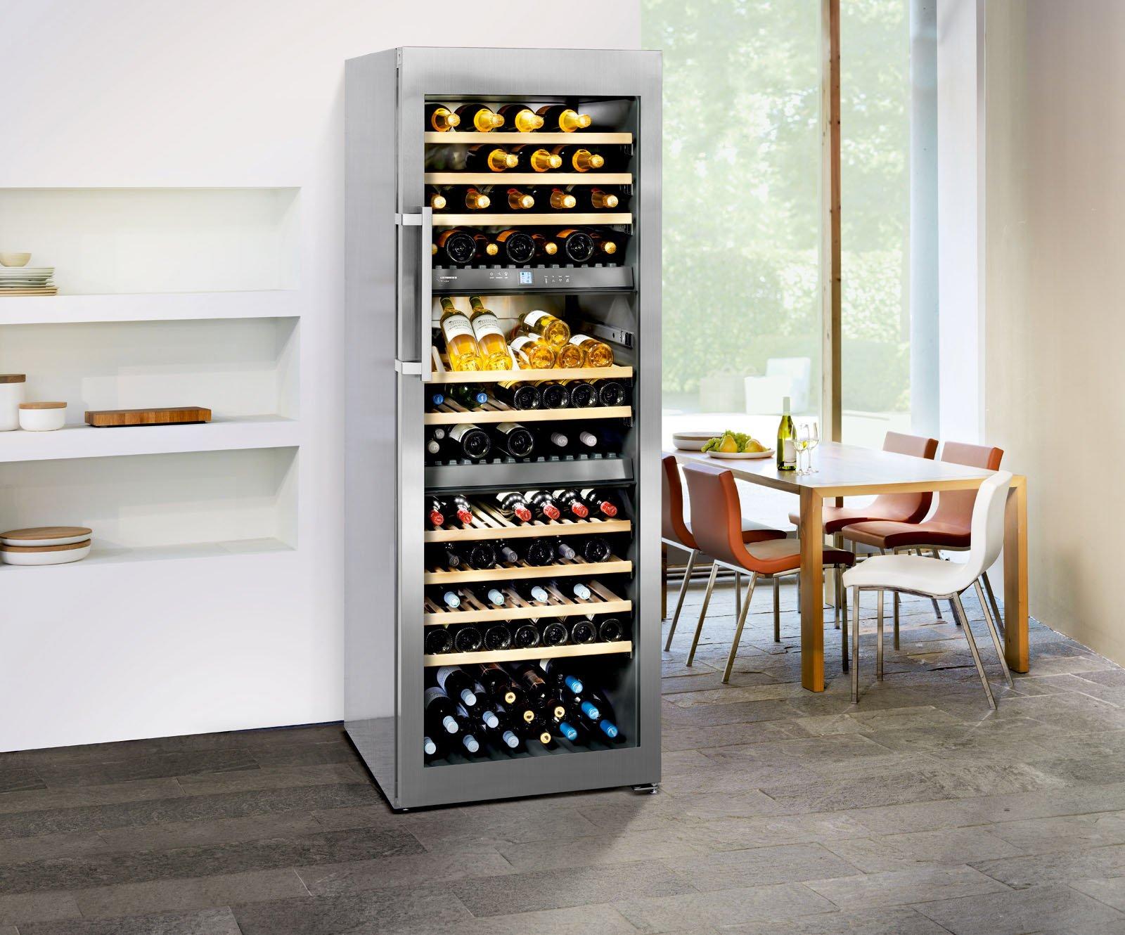 cantinetta vino enoteca privata : Nei modelli elettronici , l?impostazione dei gradi di temperatura e ...