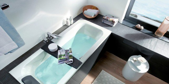 La vasca per valorizzare il bagno